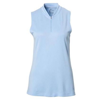 Women's Sleeveless Golf Polo Nike Dri-FIT.