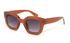 ASOS DESIGN chunky cat eye sunglasses.