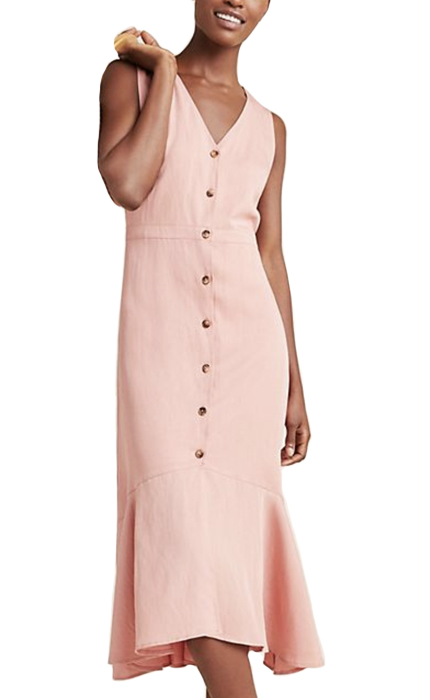 Anthropologie Rosalyn Midi Dress.