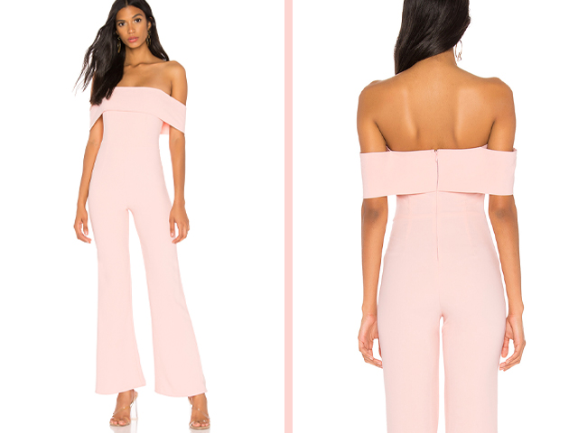 Aubrey Off Shoulder Jumpsuit  superdown brand: superdown.