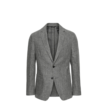 Banana Republic Slim Linen Suit Jacket.