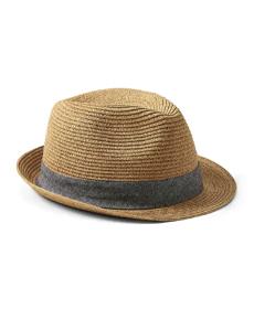 Banana Republic Straw Trilby Hat.