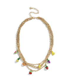 Baublebar BLOSSOM LAYERED NECKLACE.