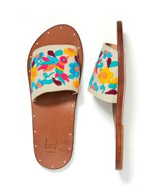 Beek Lovebird Slide Sandals.