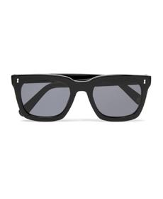 CUBITTS Judd Square-Frame Acetate Sunglasses.