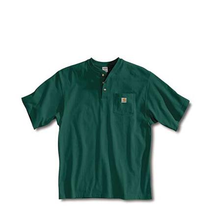 Carhartt Men's Workwear Pocket Henley Shirt.