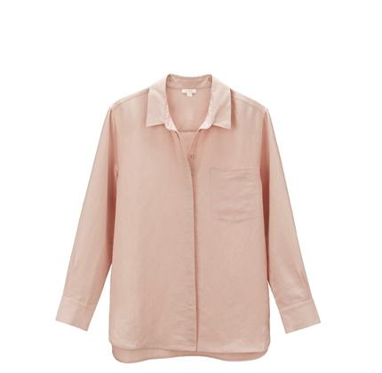 Cuyana Linen Boyfriend Shirt.