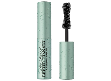 DELUXE-SIZED WATERPROOF BETTER THAN SEX MASCARA.