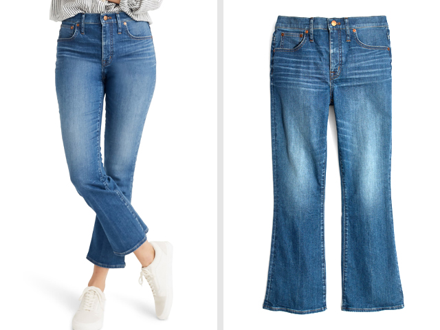 Eco Edition Cali Demi Boot Jeans MADEWELL.