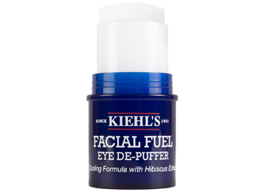 .Kiehl's Facial Fuel Eye De-Puffer.