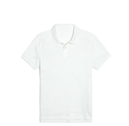 J.Crew Factory Piqué flex polo shirt.
