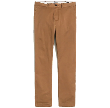 J.Crew Factory Slim-fit flex chino.