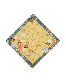 Lafayette 148 New York Brava Bouquet Mini Silk Scarf.