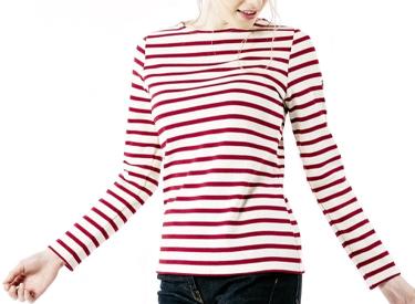 MERIDAME II Authentic Breton Shirt | Heavyweight Cotton.