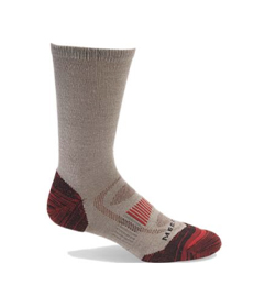 Merrell Men's Zoned Crew Light Hiker Sock.