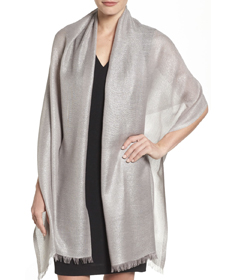 Metallic Lightweight Wrap NORDSTROM.