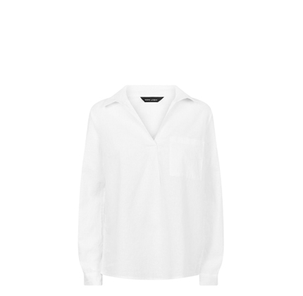 New Look linen shirt in white.