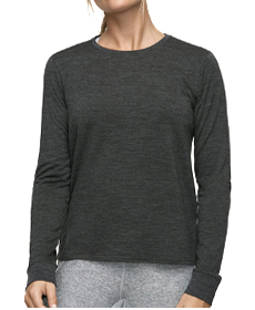 Outdoor Voices Merino Longsleeve T-Shirt.