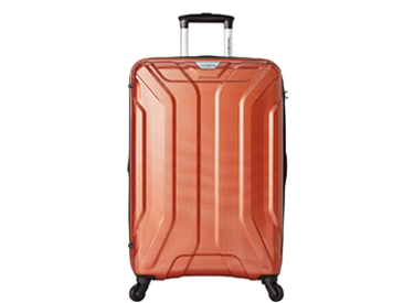 "Samsonite Englewood 25"" Expandable Hardside Checked Spinner Luggage - eBags Exclusive."