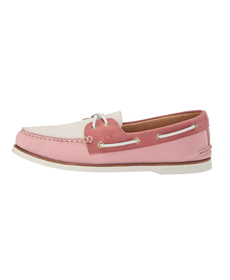 Sperry Gold A/O 2-Eye Pastel.