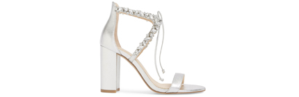 Thamar Embellished Sandal JEWEL BADGLEY MISCHKA.