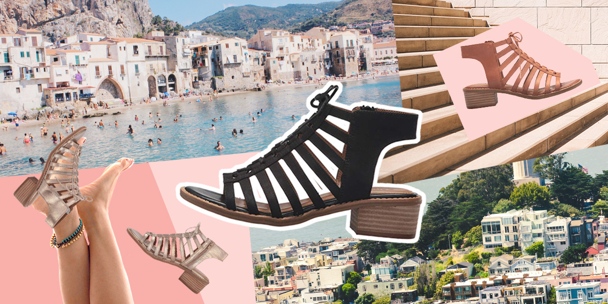 The Stylish and Supportive Sandal That Can Handle San Francisco, Sicily, and Everywhere In Between.