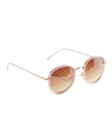 Urban Outfitters Avril Round Metal Sunglasses.