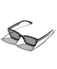 Urban Outfitters Costello Rectangle Sunglasses.