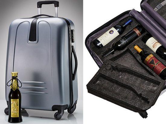 Vino-Voyage TSA-Approved Wine Suitcase.