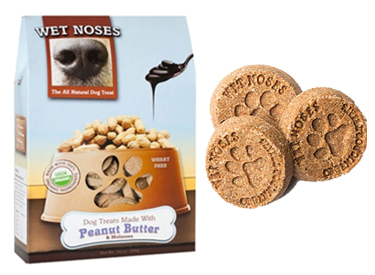 Wet Noses Organic Dog Treats.
