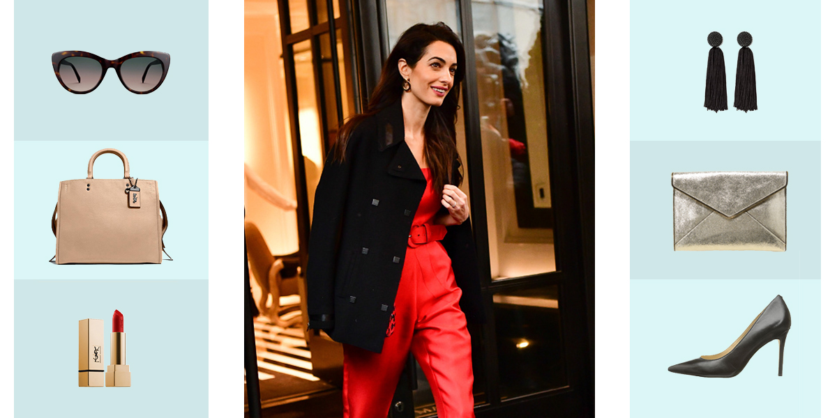 Amal Clooney's Iconic Travel Style—and How to Recreate It for Yourself.