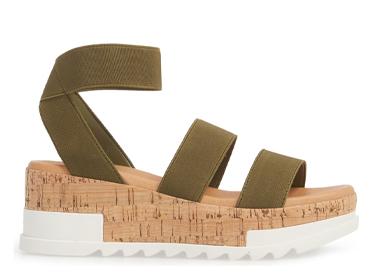 Bandi Platform Wedge Sandal STEVE MADDEN.