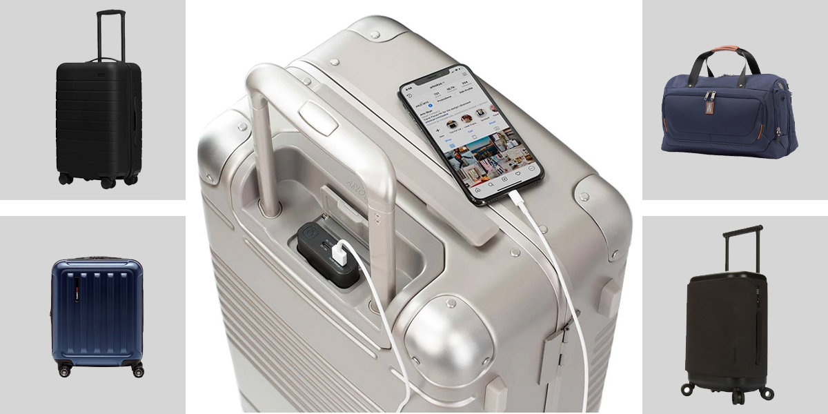 Best Smart Luggage on the Market, Plus What You Need to Know About Smart Bags.