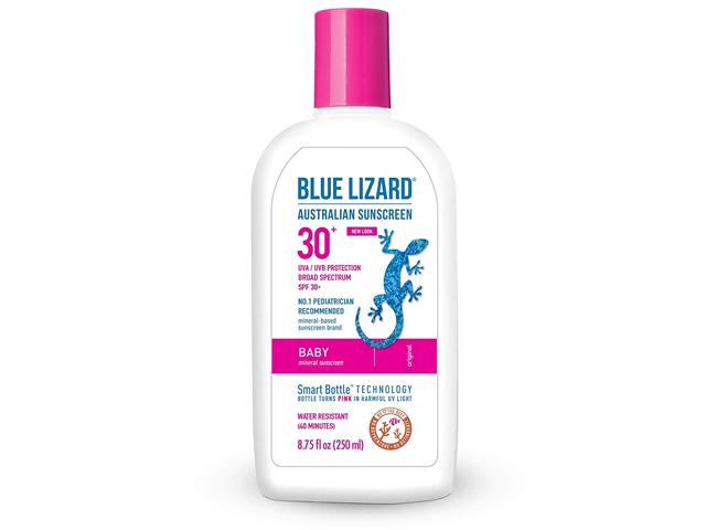 Blue Lizard Australian Sunscreen - Baby Sunscreen SPF 30+.