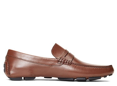 Leather Driving Moccasins.