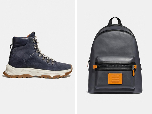 Coach Urban Hiker Boot + Coach Academy Backpack.