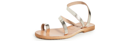 Cocobelle Crescent Strappy Sandals.