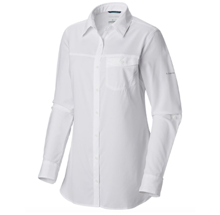 Columbia Silver Ridge Lite Long Sleeve Shirt.