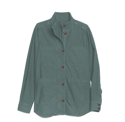Gap Slub Utility Jacket.