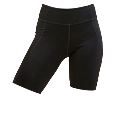 Girlfriend Collective Classic-Rise Bike Short.