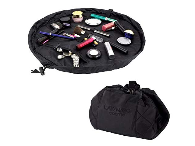 "Lay-n-Go Cosmo (20"") Cosmetic Bag, Black."