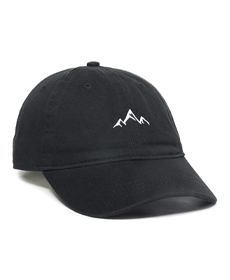 Outdoor Cap Mountain Dad Hat - Unstructured Soft Cotton Cap.