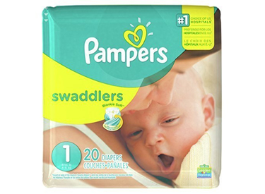 Pampers Swaddlers Size 1.