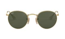 Ray-Ban Round Metal Classic Sunglasses.