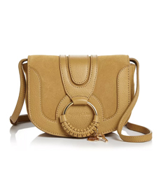 See by Chloé Hana Mini Suede & Leather Crossbody.