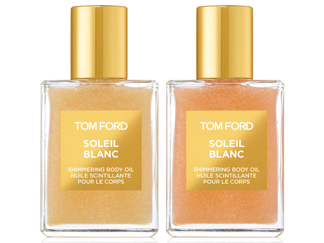 Soleil Blanc Shimmering Body Oil Mini Duo TOM FORD.