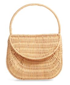 Straw Handbag TOPSHOP.