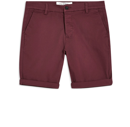 Stretch Skinny Chino Shorts TOPMAN.