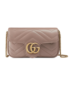 Supermini GG Marmont 2.0 Matelassé Leather Shoulder Bag GUCCI.
