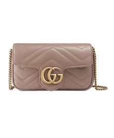 Supermini GG Marmont 2.0 Matelassé Leather Shoulder Bag GUCCI.
